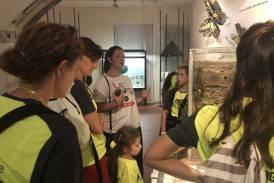 Galleria Millegradini: i ragazzi del Leonardo da Vinci membri dello staff dell'evento