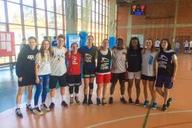 """Galleria Medaglia di bronzo per le nostre ragazze nella categoria Juniores """"Basket School Cup 3c3""""!"""