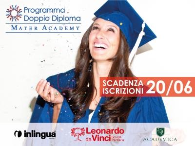 Programma Doppio Diploma Italia-USA: scadenza iscrizioni giovedì 20 giugno