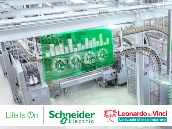 #TrasformazioneDigitale: Schneider Electric incontra i nostri studenti alla scoperta dell'IOT e della quarta rivoluzione industriale