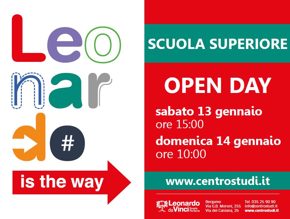 Open Day di Gennaio