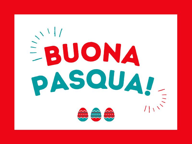 Auguri di buona Pasqua e chiusura uffici
